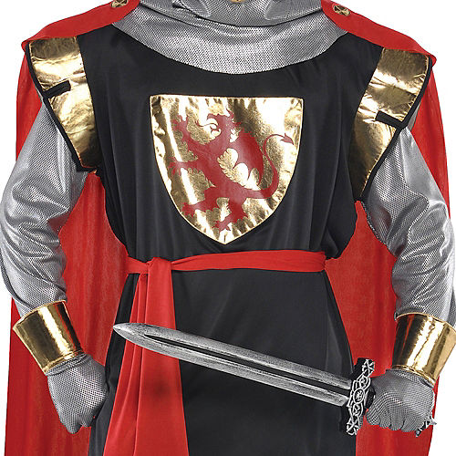 Adult Brave Crusader Knight Costume Image #3