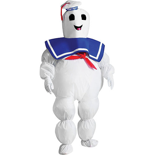 Child Inflatable Stay Puft Marshmallow Man Costume - Ghostbusters Image #1