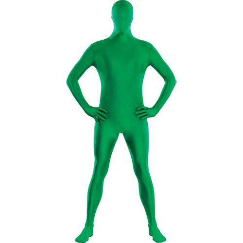 Adult Green Partysuit Image #1