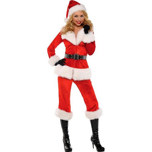Adult Sexy Santa Babe Costume Image #1