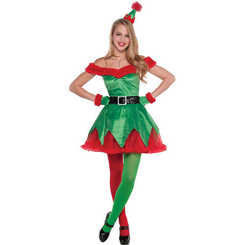 Adult Sexy Elf Costume Image #1