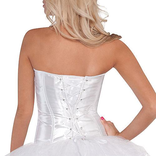 Classic White Corset Image #3