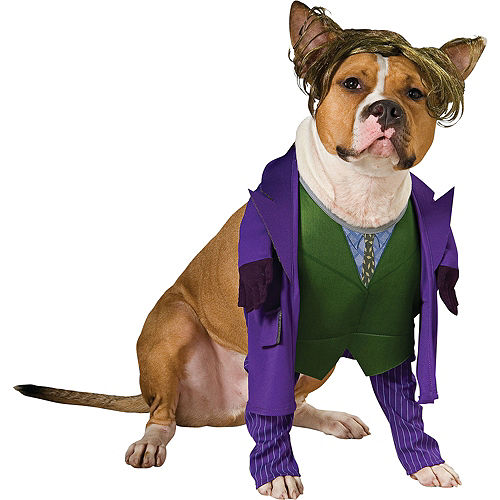 The Joker Dog Costume - Batman Image #1