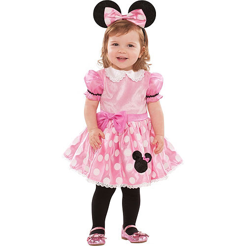 Baby Pink Minnie Mouse Costume Image #1