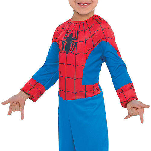 Toddler Boys Classic Spider-Man Costume Image #3
