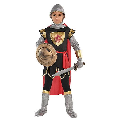 Boys Brave Crusader Costume Image #1
