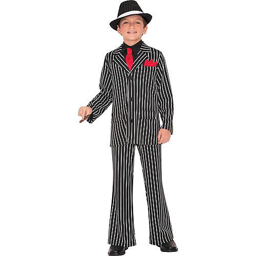 Boys Gangster Guy Costume Image #1