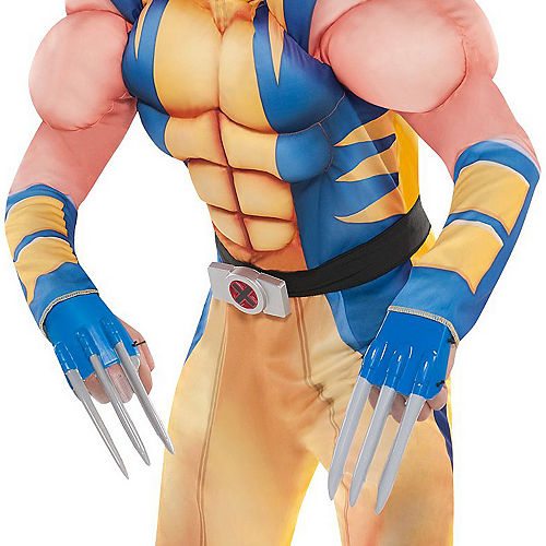Boys Wolverine Muscle Costume Image #2