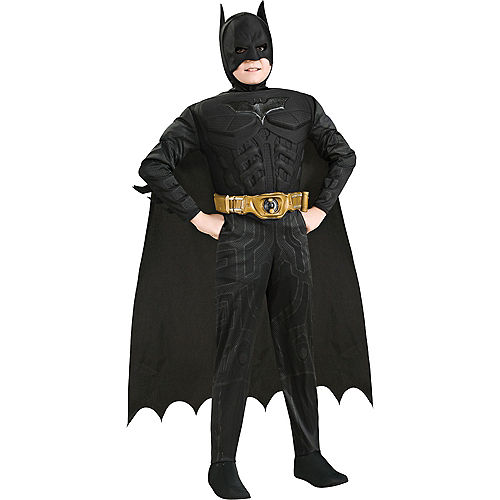 Boys Batman Muscle Deluxe Costume - The Dark Knight Image #1