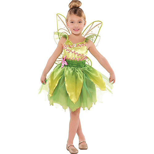 Girls Classic Tinker Bell Costume Image #1