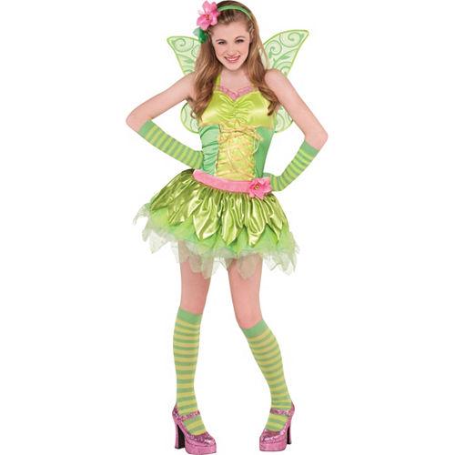 Teen Girls Tinker Bell Costume Image #1