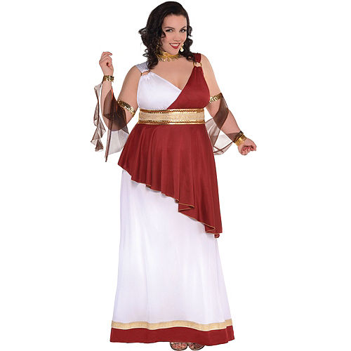 Adult Imperial Empress Costume Plus Size Image #1