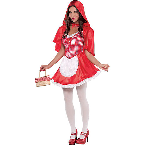 Adult Miss Red Riding Hood Costume Image #1