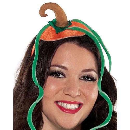Adult Pretty Pumpkin Costume Plus Size Image #3