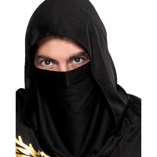 Adult Black Dragon Ninja Costume Image #3
