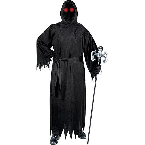 Adult Light-Up Unknown Phantom Costume Plus Size Image #1