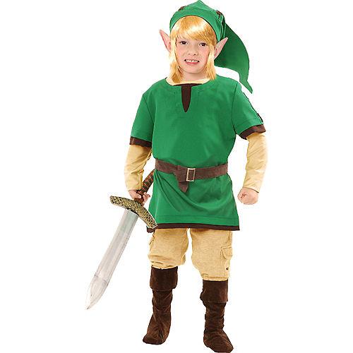Boys Elf Warrior Costume Image #1