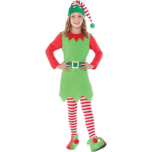 Girls Elf Costume Image #1