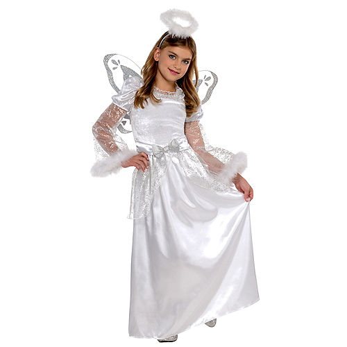 Child Christmas Angel Costume Image #1