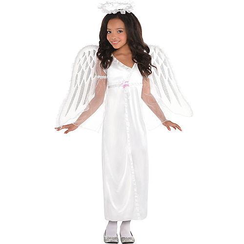 Girls Heavenly Angel Costume Image #1