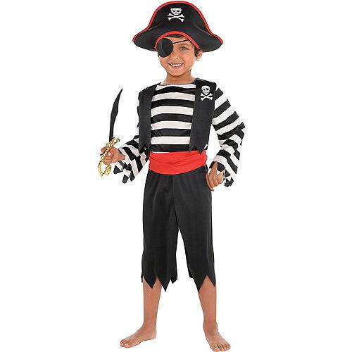 Toddler Boys Rascal Pirate Costume Image #1