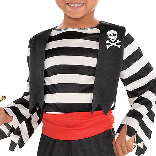 Toddler Boys Rascal Pirate Costume Image #3