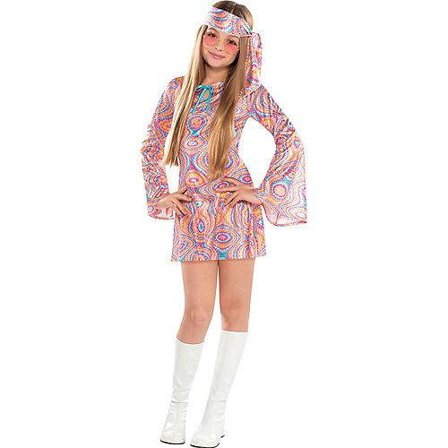 Girls Disco Diva Costume Image #1