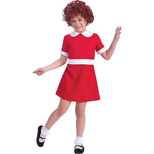 Girls Annie Costume Image #1