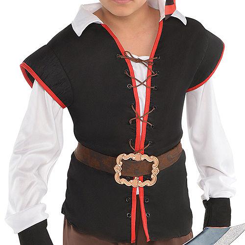 Boys Rebel of the Sea Pirate Costume Image #3