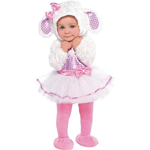Baby Little Lamb Costume Image #1