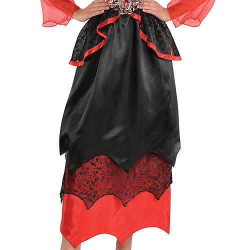 Girls Vampire Queen Costume Image #3