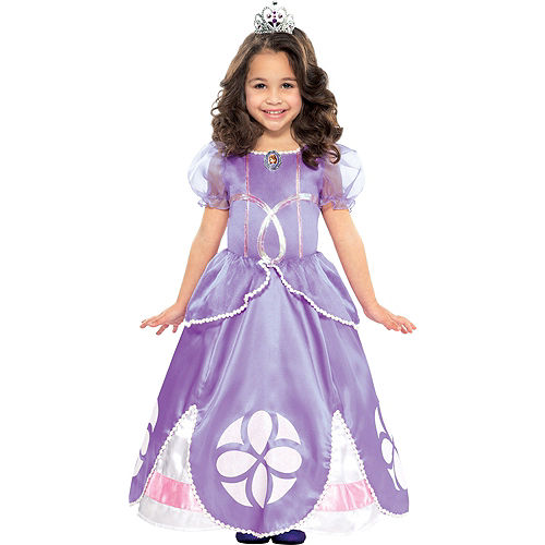 Toddler Girls Sofia the First Costume Image #1