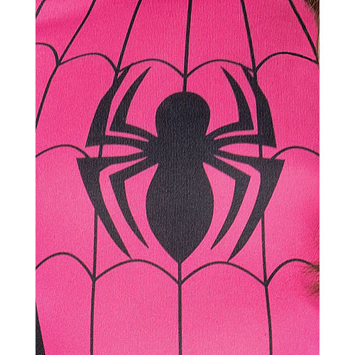 Girls Pink Spider-Girl Costume Image #3