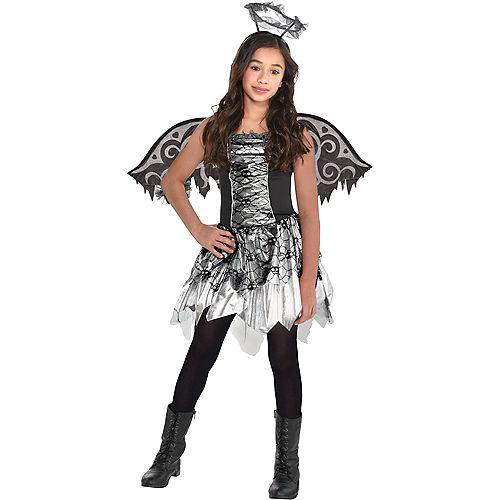 Girls Fallen Angel Costume Image #1