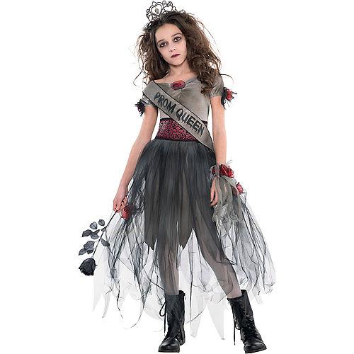 Girls Prom Corpse Costume Image #1