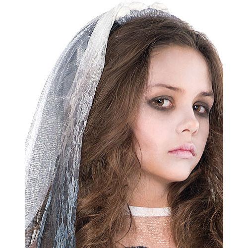 Girls Graveyard Bride Costume Image #2
