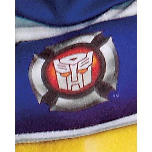 Toddler Boys Chase Muscle Costume - Transformers Rescue Bots Image #3