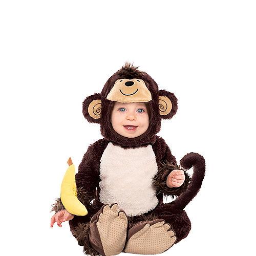 Baby Monkey Costume Image #1