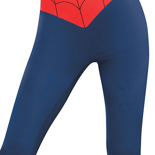Adult Sexy Spider-Girl Catsuit Costume Image #4