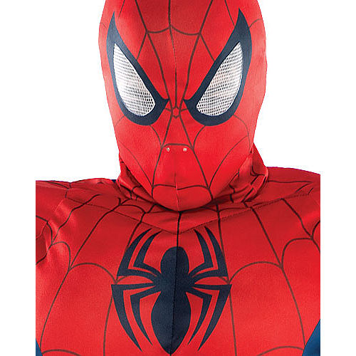 Adult Classic Spider-Man Muscle Costume Image #2
