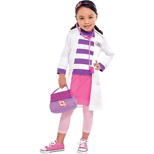 Girls Doc McStuffins Costume Image #1