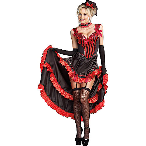 Adult Can-Can in Paris Dancer Costume Image #1