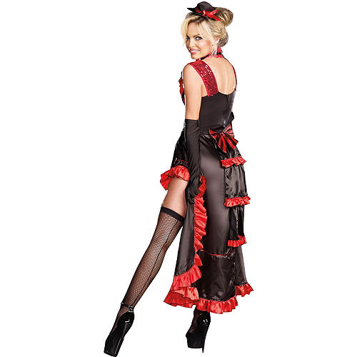 Adult Can-Can in Paris Dancer Costume Image #2