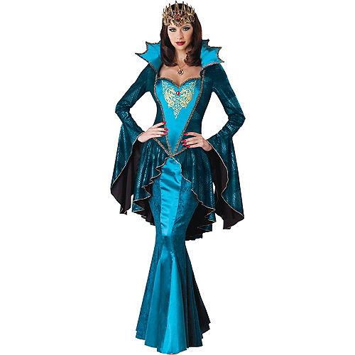 Adult Medieval Queen Costume Deluxe Image #1