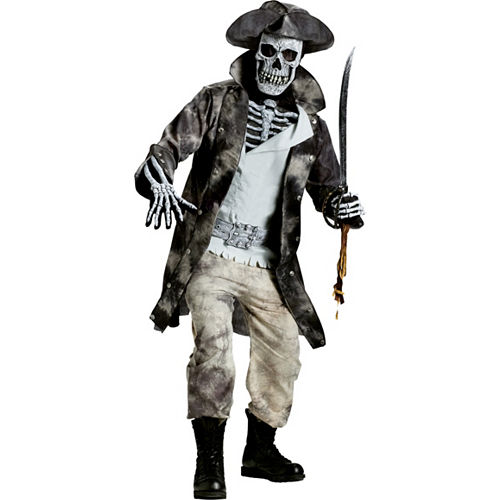 Adult Ghost Pirate Costume Image #1
