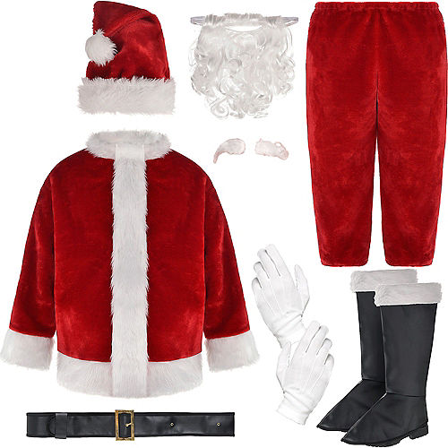 Adult Royal Santa Suit Image #2