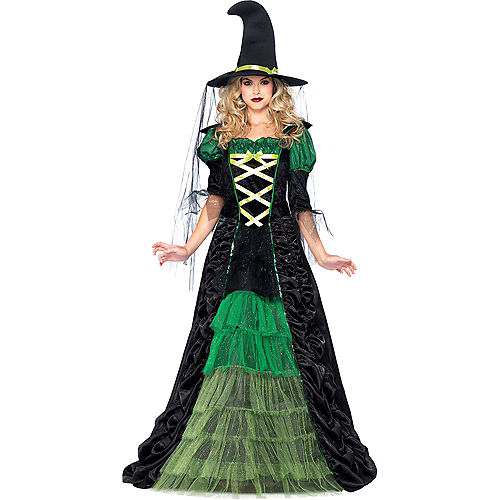 Adult Storybook Witch Costume Image #1