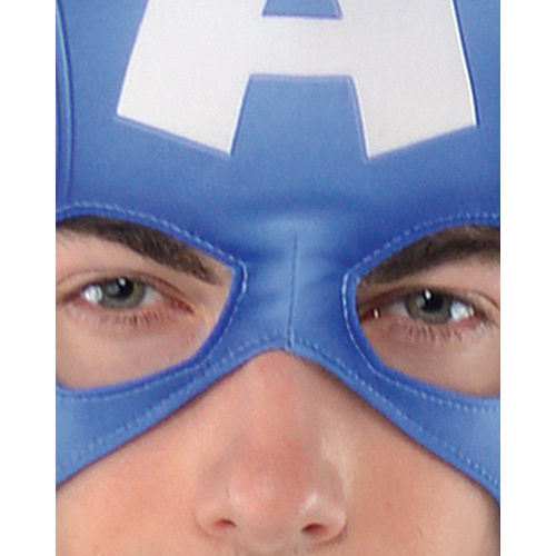 Adult Captain America Muscle Costume Classic Image #2