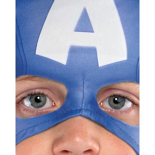 Boys Captain America Muscle Costume Classic Image #2