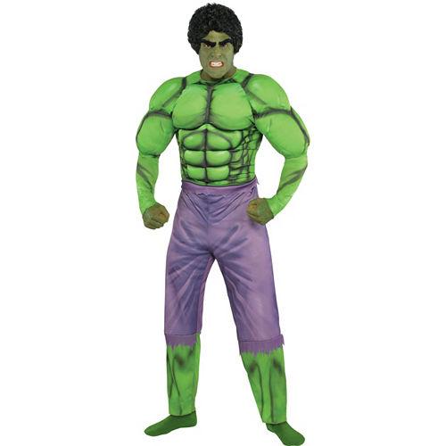 Adult Hulk Muscle Costume Classic Image #1